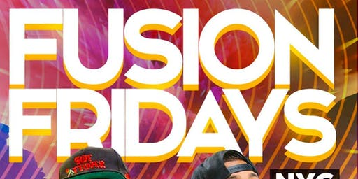 Fusion Fridays NYC at Maracas Nightclub
