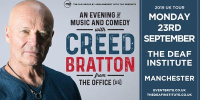 Creed Bratton From The Office (US Version) (Deaf Institute, Manchester)