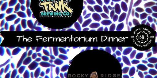 The Fermenterium Dinner