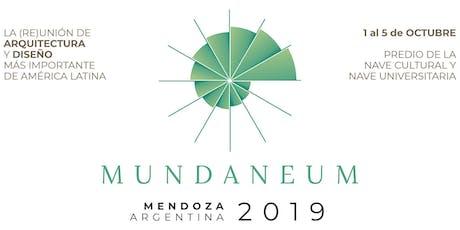 Mundaneum Mendoza 2019 entradas