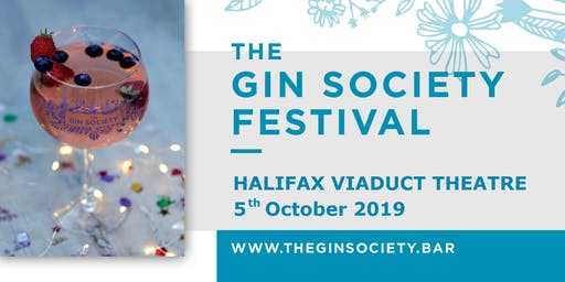 Halifax Gin Festival - The Gin Society 2019