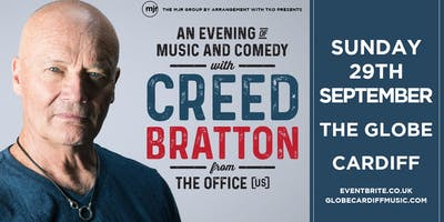 Creed Bratton From The Office (US Version) (The Globe, Cardiff)