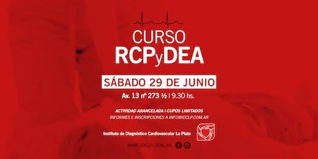 Curso de RCP + DEA entradas