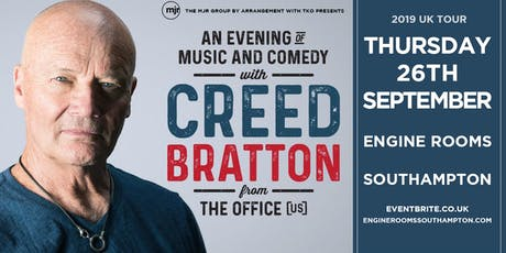 Creed Bratton From The Office (US Version) (Engine Room, Southampton) tickets