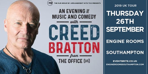 Creed Bratton From The Office (US Version) (Engine Room, Southampton)