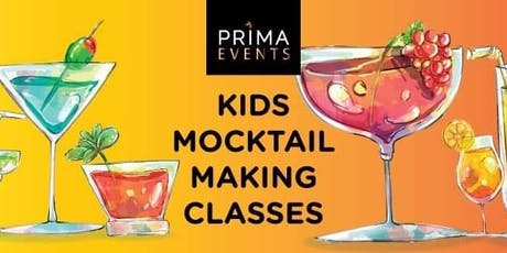Kids Mocktail Making Class tickets