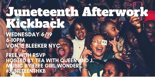 Juneteenth AfterWork Kickback 2019