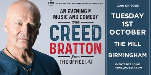 Creed Bratton From The Office (US Version) (The Mill, Birmingham)