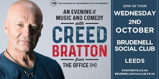 Creed Bratton From The Office (US Version) (Brudenell Social Club, Leeds)