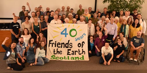 Friends of the Earth Scotland AGM 2019 & Prof. Kevin Anderson Climate Talk