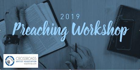 Leading Through Preaching Workshop tickets
