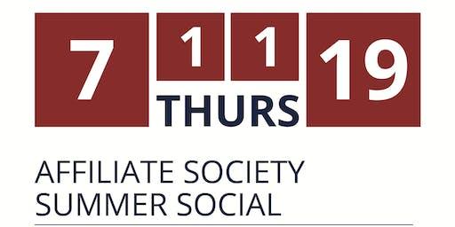 Affiliate Society Summer Social