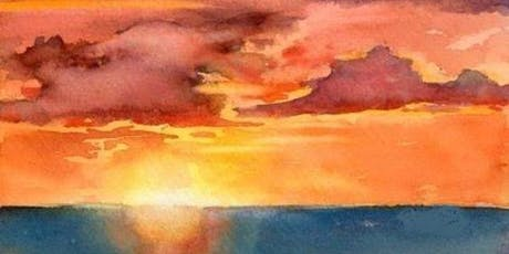 Watercolor Sunset Painting tickets