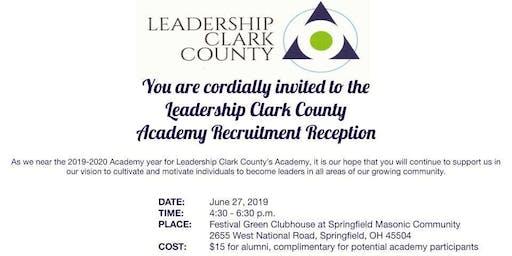 Leadership Clark County Recruitment Reception