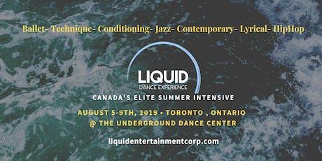 Liquid Advanced Dancer Summer Intensive at Underground tickets