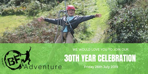 BF Adventure 30 Year Celebration