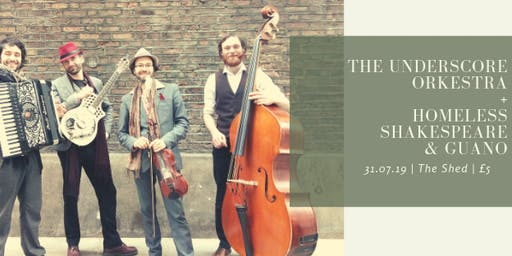 The Underscore Orkestra : Hot Jazz, Blues & Balkan // 31st July - The Shed