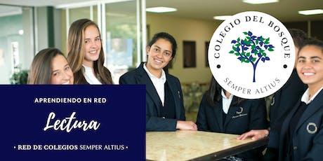 Fomentando la lectura en el colegio - Colegio del Bosque México boletos