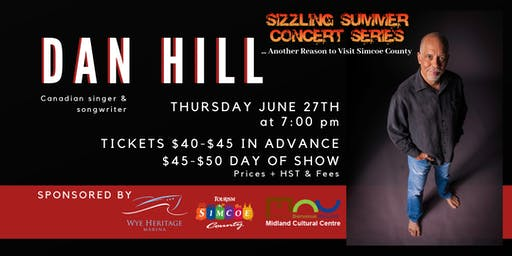 Sizzling Summer Series: Dan Hill