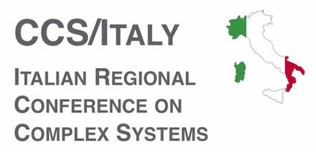 CCS Italy - Italian Regional Conference on Complex Systems biglietti
