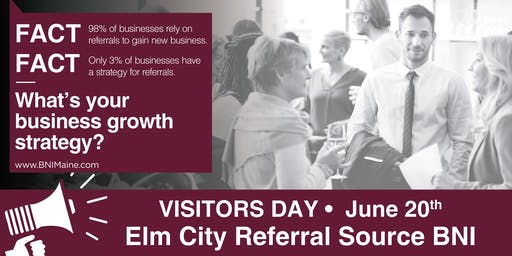 Visitors Day for Elm City Referral Source BNI