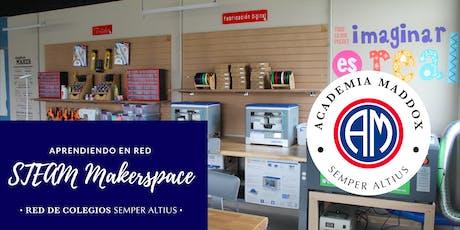 Manos a la obra con la investigación científica: STEAM Makerspaces - Academia Maddox boletos
