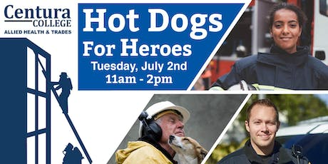 Centura Chesapeake | Hot Dogs for Heroes tickets