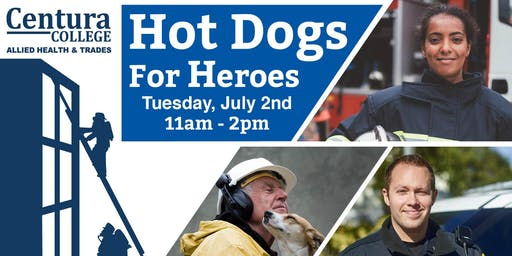 Centura Chesapeake | Hot Dogs for Heroes