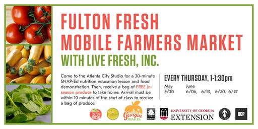 Fulton Fresh Mobile Farmers Market 2019