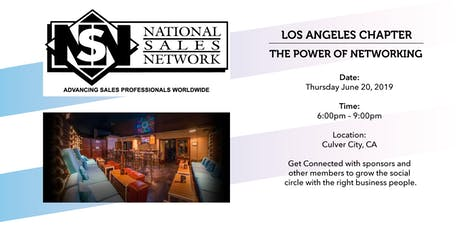 National Sales Network LA - Power of Networking  tickets