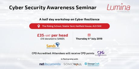 Cyber Security Awareness Seminar tickets