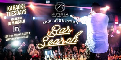 BAR SEARCH Karaoke Tuesdays!
