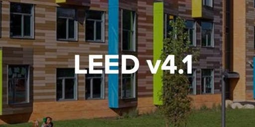 rescheduled for Sept : USGBC AR: The Next Evolution of LEED - v4.1 Workshop