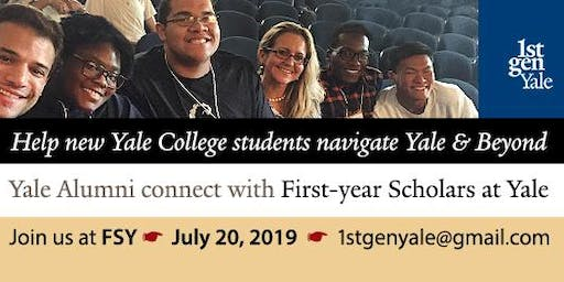 Together Again: Alumni & First-Year Scholars at Yale - Saturday, July 20, 2019
