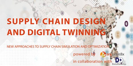 Seminar: Supply Chain Design and Digital Twinning with anyLogistix tickets