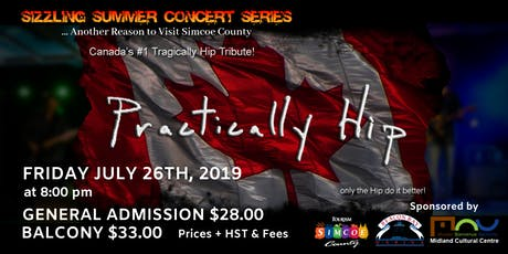 Sizzling Summer Series: Practically Hip tickets