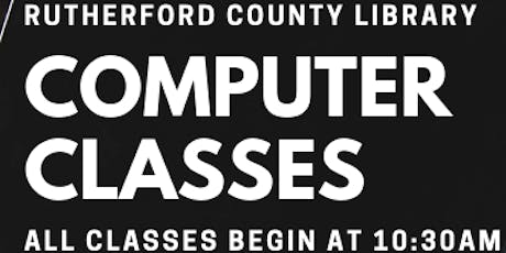 Discover Our eBooks Class @ County Library tickets