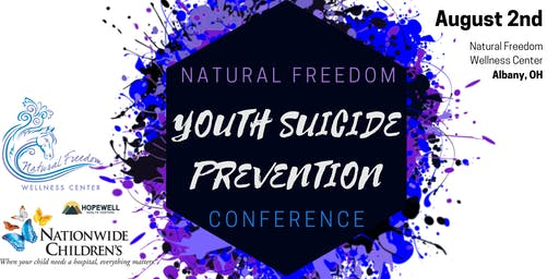 Natural Freedom Youth Suicide Prevention Conference