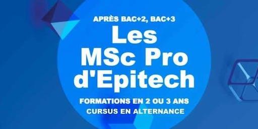 Découvrez la formation MSc Pro d'Epitech lors d'un entretien personnalisé !