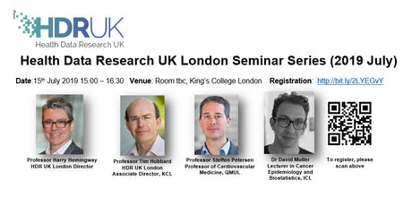 HDR UK London Seminar Series (Jul 2019) tickets
