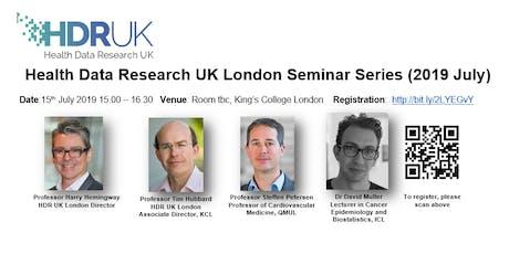 HDR UK London Seminar Series (Jul 2019) tickets