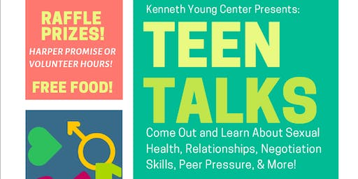Teen Talks Series (Ages 13+)