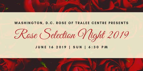 2019 Washington DC Rose of Tralee Selection tickets