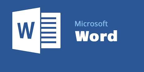 Word Basics 2: Formatting tickets