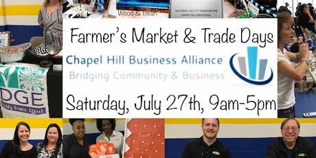 Chapel Hill Farmer's Market & Trade Days tickets