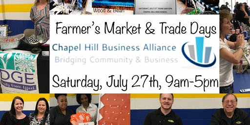 Chapel Hill Farmer's Market & Trade Days