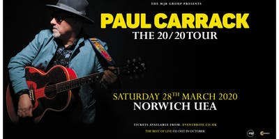 Paul Carrack (UEA, Norwich)