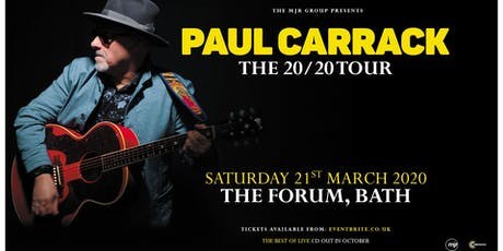 Paul Carrack (The Forum, Bath) tickets