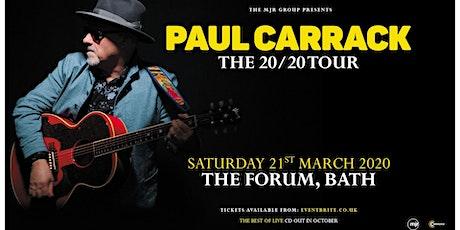 Paul Carrack (The Forum, Bath) tickets