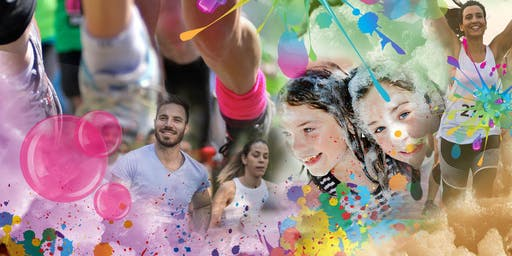 Bubbly Colour Run -Galway  Racecourse